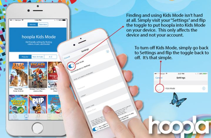 how to download off of hoopla