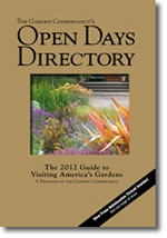 The Garden Conservancy's Open Days Directory: The 2012 Guide to Visiting America's Gardens